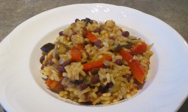 eggplantpaella