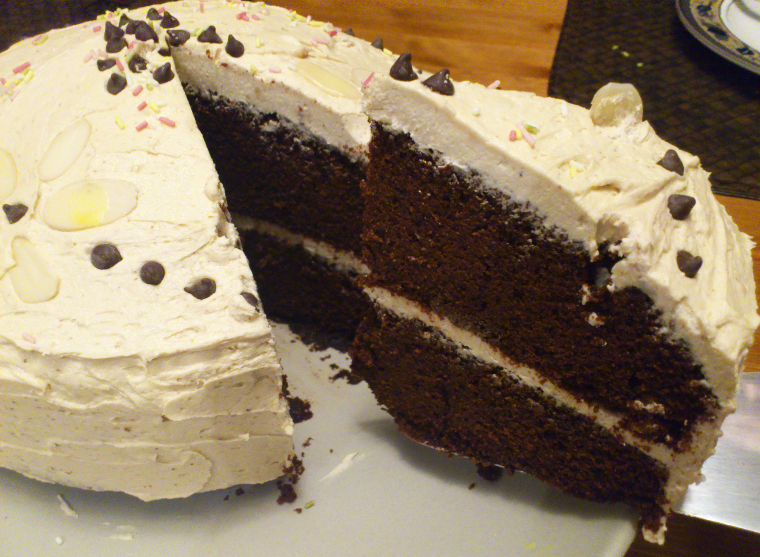 Gluten Free Mocha Fudge Cake Recipe — Dishmaps