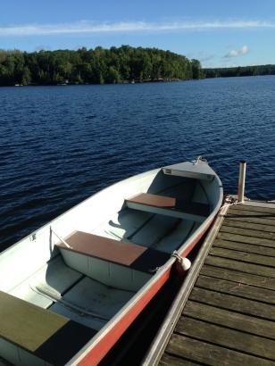 boat on Chandos Lake