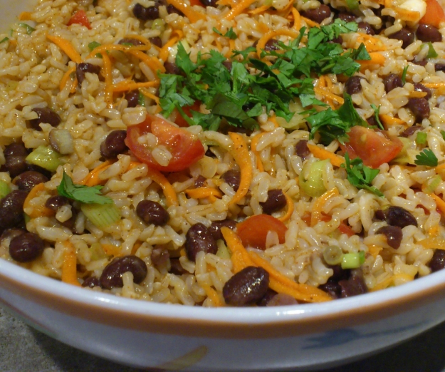 Easy Tex-Mex Brown Rice Salad