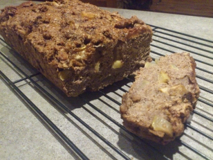 Pear-Cardamom Bread