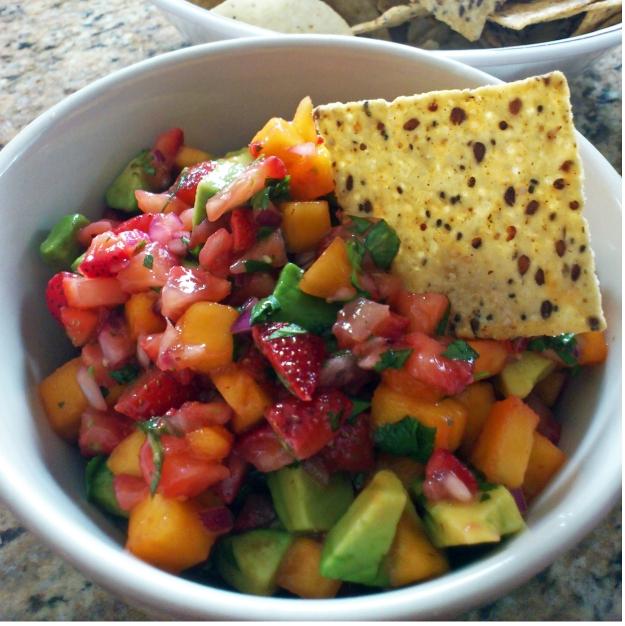 Angela Liddon's Strawberry-Mango Guacamole